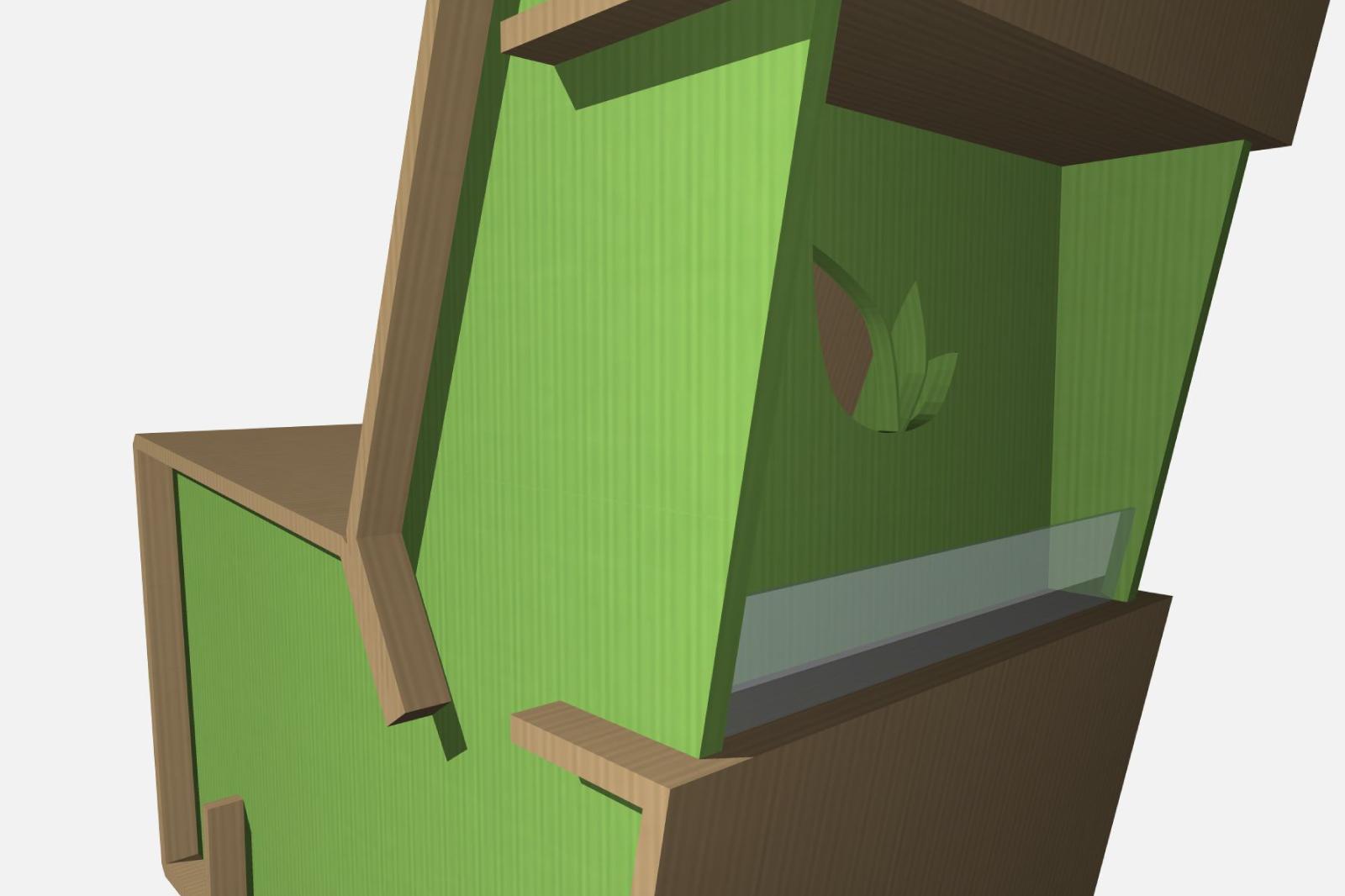 Poltrona in Cartone | ArchiStudio502