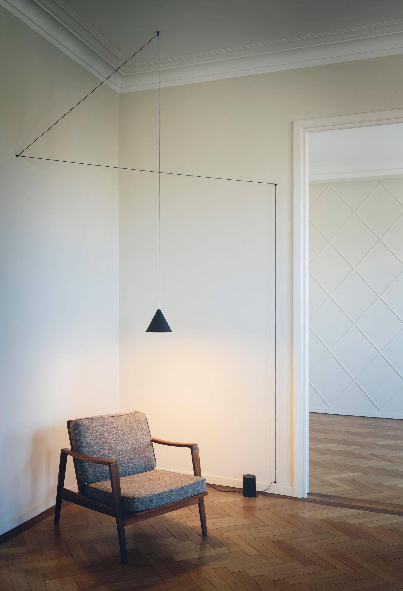 UNA CORDA ILLUMINANTE - FLOS STRING LIGHT